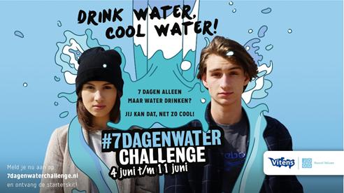 Wij doen mee aan de #7dagenwaterchallenge!